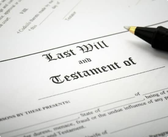 What Is A Will, And What Does It Do?